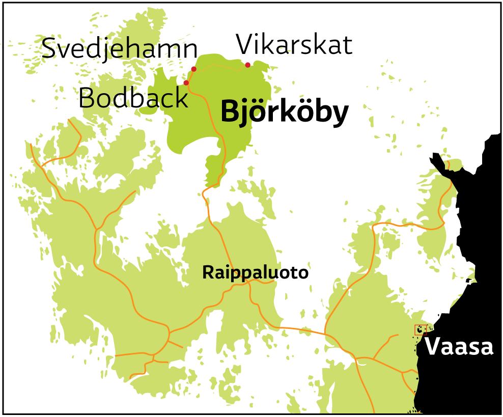 Maankohoaminen Kartta
