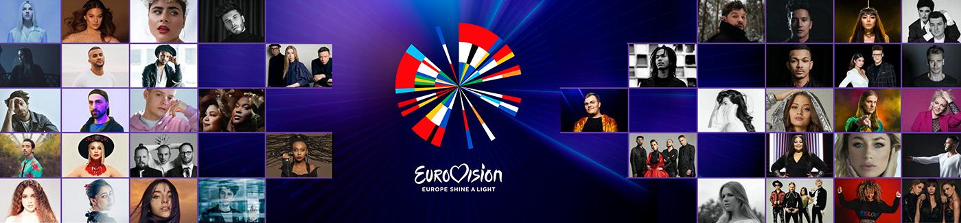 Aihesivun Euroviisut 2020 pääkuva