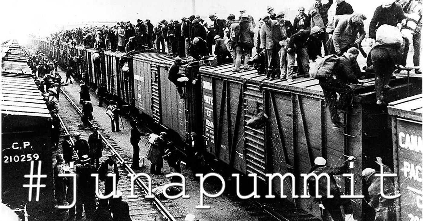 Aihesivun #junapummit pääkuva