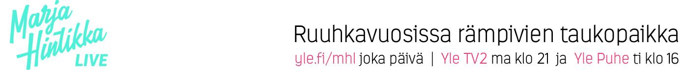 Aihesivun Marja Hintikka Live pääkuva