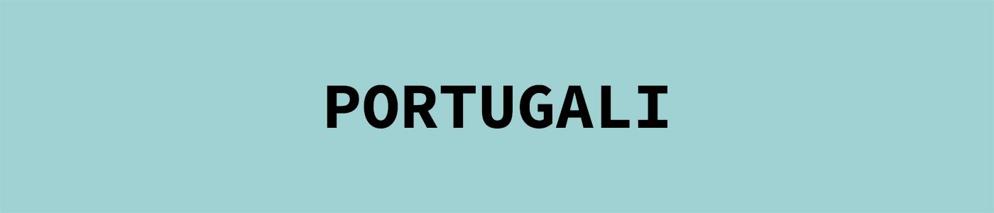 Aihesivun Portugali pääkuva
