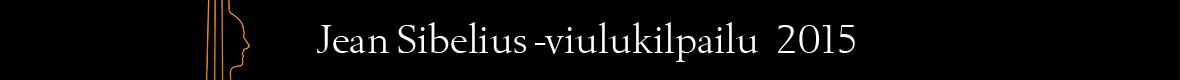 Aihesivun Jean Sibelius -viulukilpailu pääkuva
