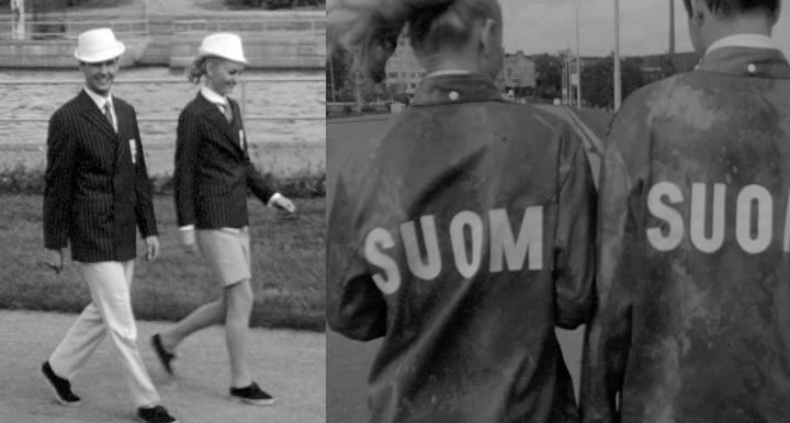Suomalainen sisu ja vaatimattomuus koristavat olympia asuja  Elävä arkisto