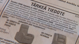 tiedote (Video still, Kuva: YLE)