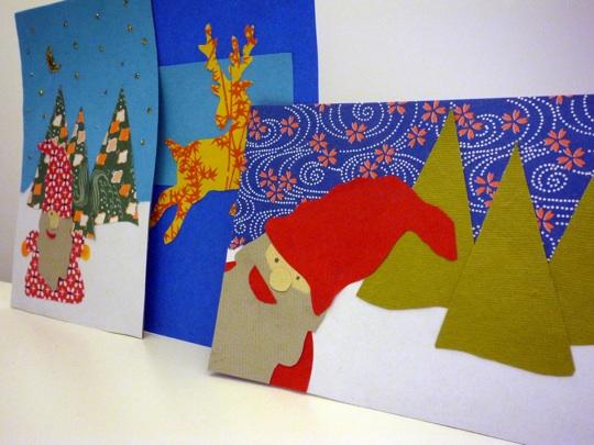 Haluatko saada itsekuvattuja vauvankuva-joulukortteja?