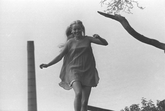 Mikkelin ulkoilmateatterissa. 1960-luku.