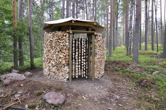 Aamu Song ja Johan Olin: Halkola. Kuva: Tuomo Eerikäinen / Linkkumylly
