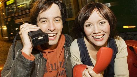 2006 Musiikki TV:tä alkuun Ile Uusivuoren kanssa. Kuva: YLE, Heli Sorjonen