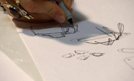 Käsilaukun suunnittelu. Kuva: Ps