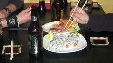 Voi Yhdysvalloissa syödä terveellisesti sushiakin. Kuva: Mika Marttinen