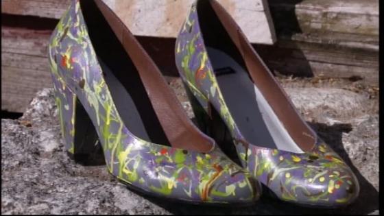 ... ja uniikit kengät ovat valmiit!