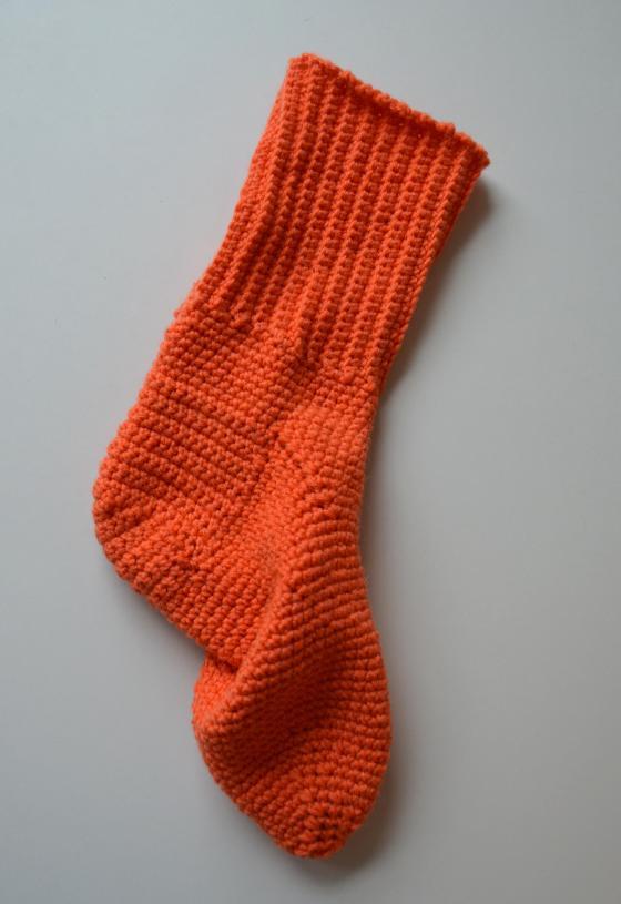 Valmis sukka!