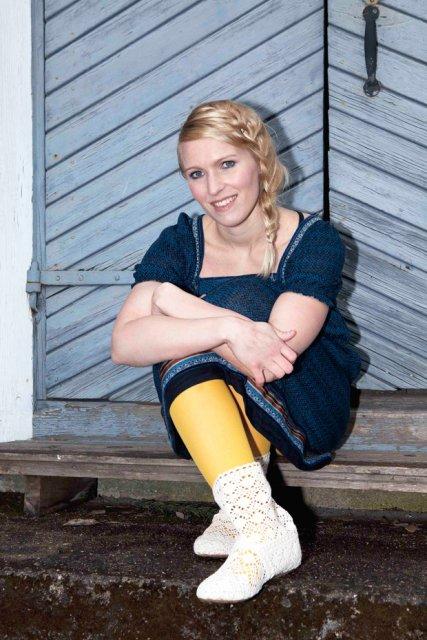 Hidasta elämää -sivuston Sanna Wikström hidastaa! Kuva: Noora Sandgren.