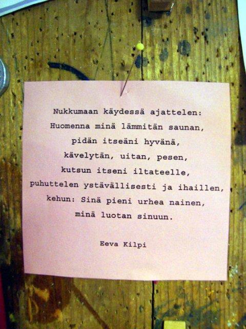 Eeva kilven runoja