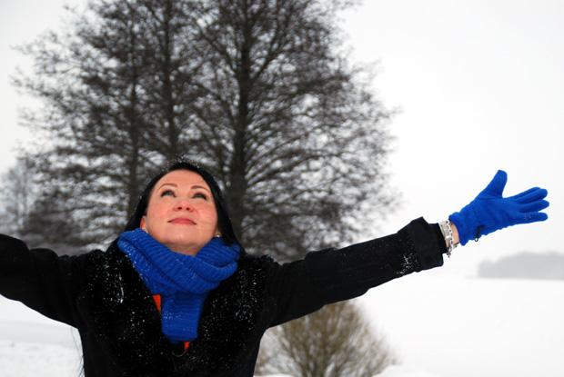 Anna Uusiheimala - Amorin apukädet. Kuva: Yle Olotila, Anni Alatalo.