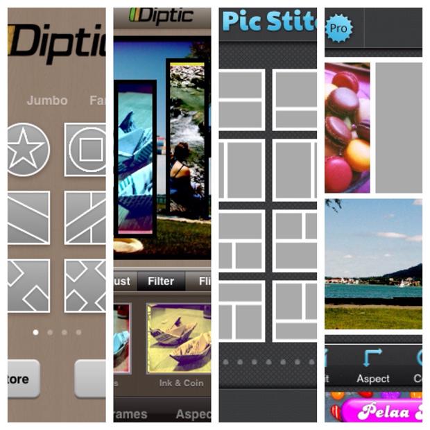 Diptic ja Pic Stitch