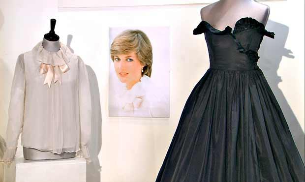 The Auction - Ensimmäinen, toinen ja kolmas kerta. Prinsessa Dianan musta mekko. Kuva: Yle Kuvapalvelu