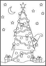 Joulupuu. Kuva: Annukka Väisänen