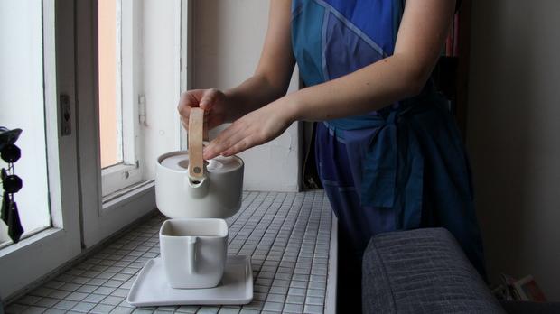Marimekon kannu on kovassa käytössä. Kuva: Reetta Arvila, YLE