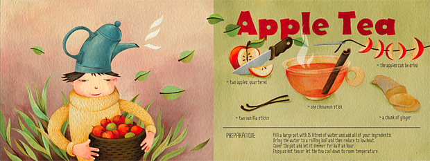 Apple Tea by Siyana Zaharieva, They Draw and Cook