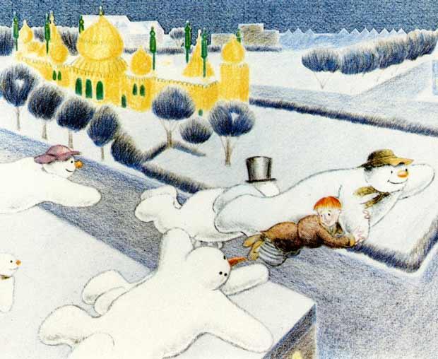 Lumiukko. Yle Kuvapalvelu