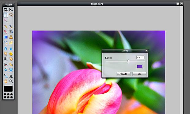Kuvakaappaus pixlr.com