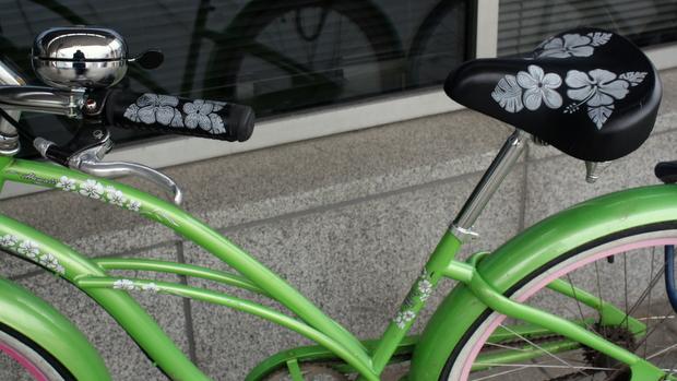 Tällä pyörällä kehtaa ajella. Kuva: Liisa Koivisto