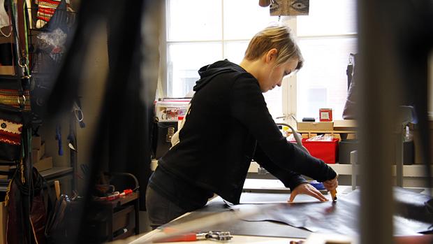 Työhuoneeni: Salmiak Studio. Kuva: Siiri Huttunen, Yle Olotila