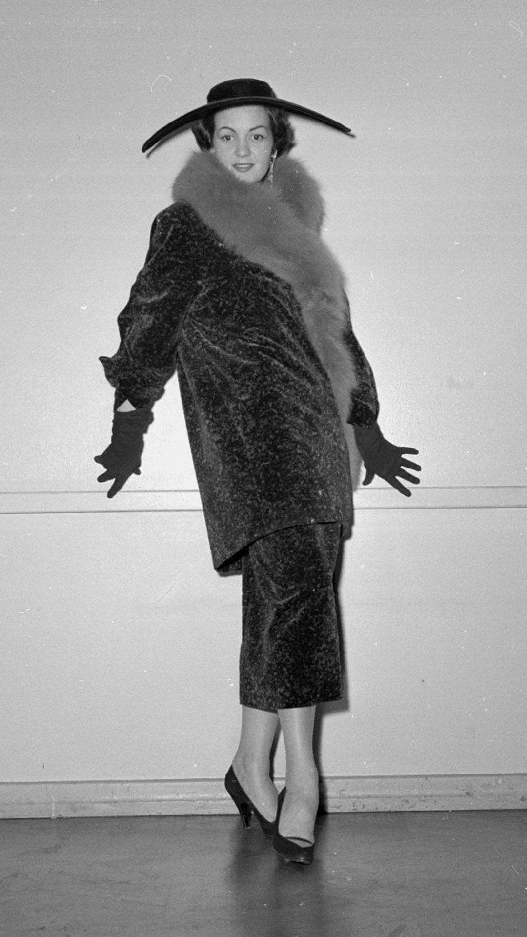 Ranskalainen malli vuodelta 1950. Kuva. Kalle Kultala