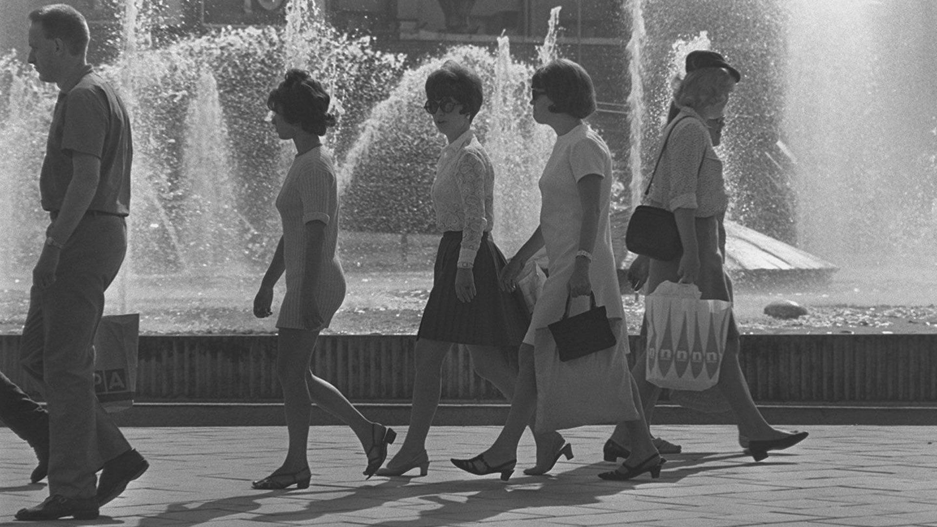 Minihameita, vuosi 1960. Kuva: Kalle Kultala