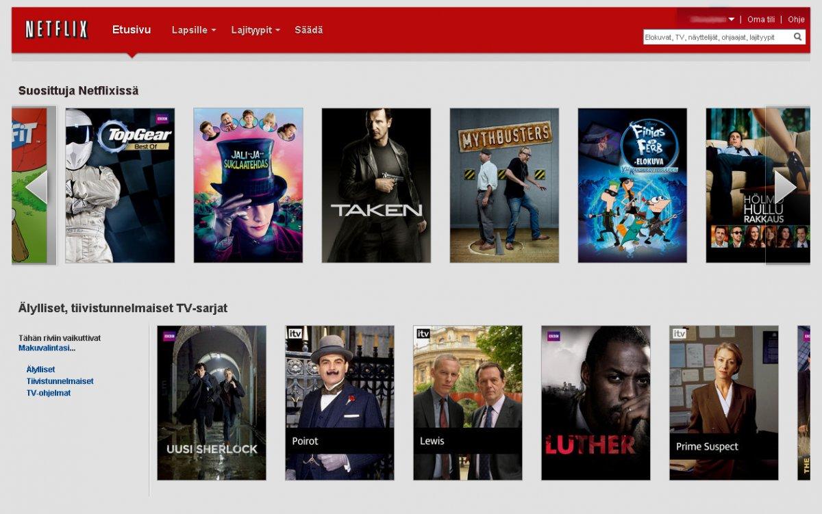 Hyvät Sarjat Netflix