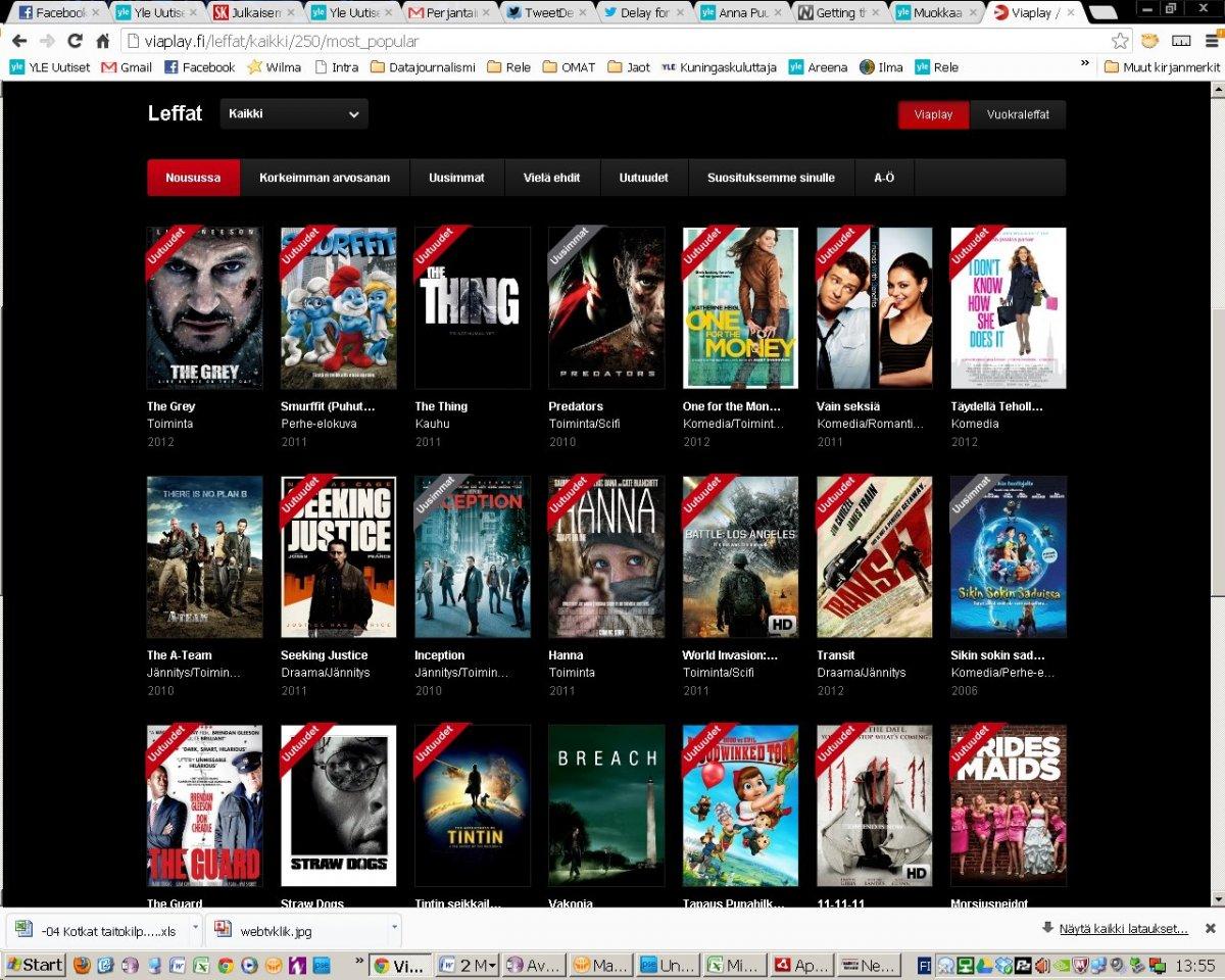 Netflix uudistuu: Top 10 -listat saapuvat palveluun