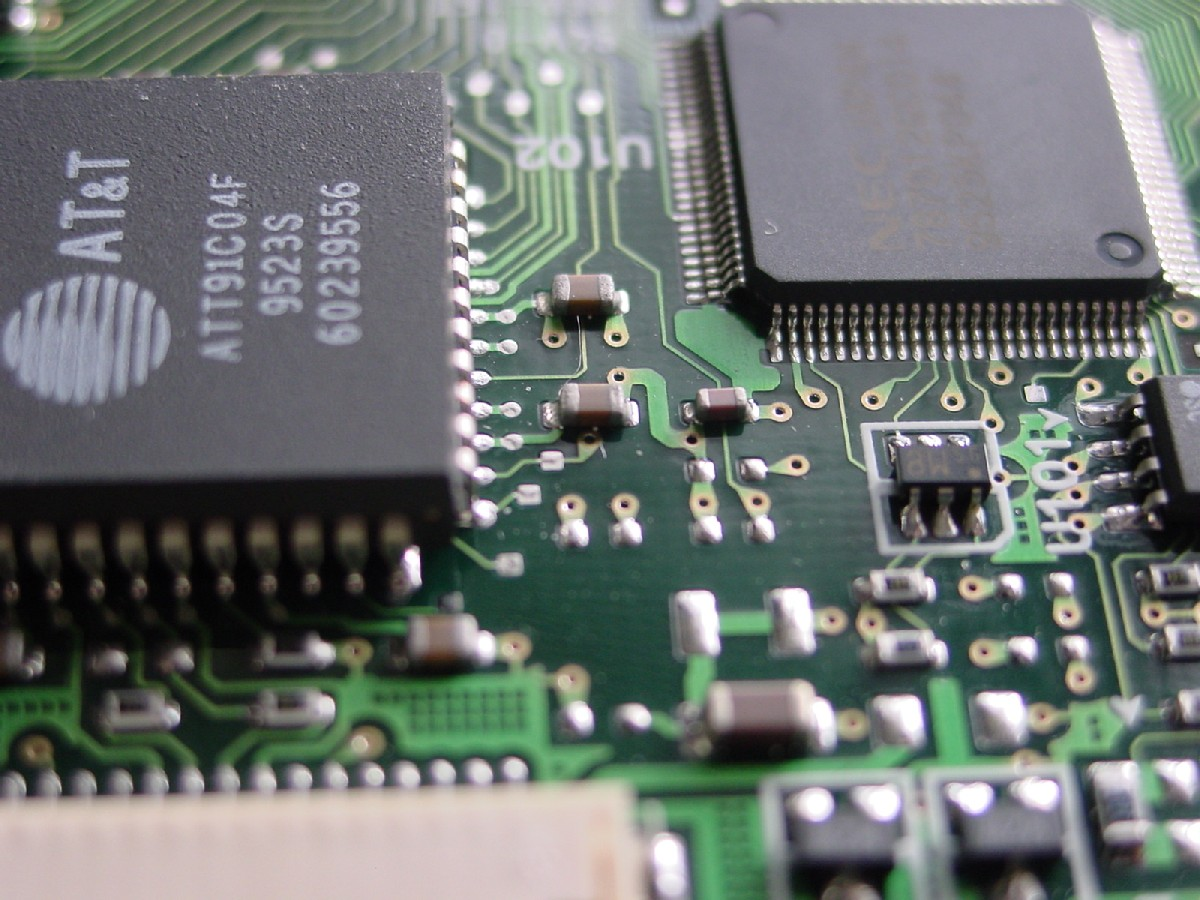 Stock photo: SMD-Chips by qhostfire