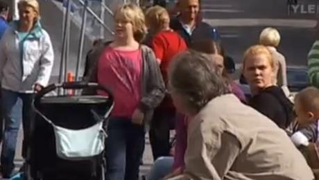 suomalainen nainen pasilan aseman eläinkauppa